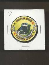 Crystal Park $5 Casino Hotel 1963 Rolls Royce Phantom Casino Chip 2