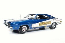 1969 DODGE HEMI CHARGER R/T HAWAIIAN ROLAND LEONG 1:18 NHRA AW231 AUTO WORLD CAR