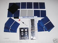 Solar cells diy kit 20 watt  solar panel kit cells, wires, jbx, flux pen, diode