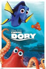 DISNEY PIXAR FINDING DORY CHARACTERS POSTER 91.5 X 61CM OFFICIAL MERCHANDISE