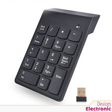 Numeric Keypad 18Keys Digital Keypad 2.4G USB Wireless Keyboard for PC Notebook
