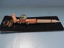 """Creepy Spooky Zombie Eating a Leg Pen 6""""in Hand-Crafted Ink Writing Pen Spirit"""