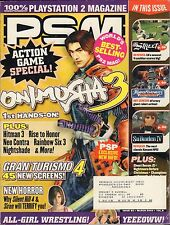 PSM March 2004 Onimosha 3, Grand Turismo 4, Silent Hill 4 VG 070816DBE2