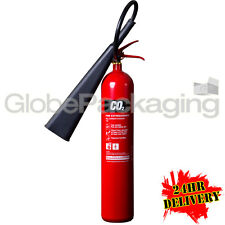 NEW 5KG CO2 CARBON DIOXIDE FIRE EXTINGUISHER WAREHOUSE OFFICE WORKSHOP 24HR DEL