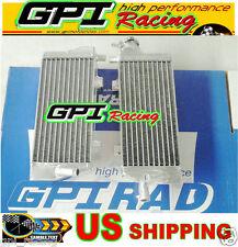 aluminum radiator KTM EXC 125/200/250/300 2010 2011 2012 2013 2014 14 13 12 11