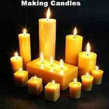 Candle Making How to Make Candles 15 Books CD Candles Wax Glycerin Paraffin Mold