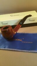 Sasieni Of London Smoking Pipe - Walnut 4 Dot - 5