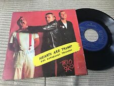 "TRIO - SPANISH 7"" SINGLE SPAIN MERCURY 83 ANNA HEARTS ARE TRUMP NEW WAVE NDW"