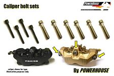 Suzuki GSXR 600 750 K4 K5 Stainless joint bolt & pin set front brake calipers