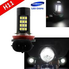 H11 Samsung (1 Pc) LED 42 SMD White Xenon 6000K Headlight Light Bulb Motorcycle