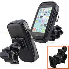 Waterproof Bike Bicycle Motorcycle Phone Case Bag w/ Handlebar Mount Holder