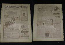***CORRIERE DEI PICCOLI N. 49*** 4/12/1910  - CON SOVRACOPERTA