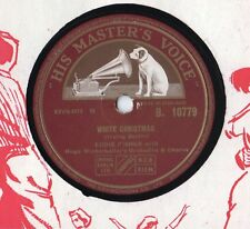 "Eddie Fisher - White Christmas 10"" Single 78 Rpm"
