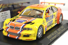 FLY A287 BMW M3 GTR YELLOW CORN NEW 1/32 SLOT CAR IN DISPLAY 22,000 RPM MOTOR