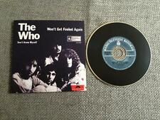 The Who CD Single Card Sleeve Won't Get Fooled Again / Don't Know Myself