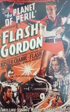 A3 FLASH GORDEON POSTER Science Fiction Cult Film 1936 Sci-Fi Buster Crabbe