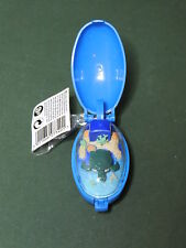 TURTLE WORLD keyring poket pets serie Tomy Takara 1993 Critters Wind up animated