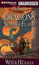 Dragons of Summer Flame 2 by Tracy Hickman and Margaret Weis (2013, CD,...