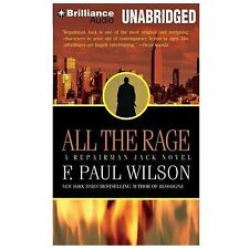 Repairman Jack: All the Rage 4 by F. Paul Wilson (2014, CD, Unabridged)