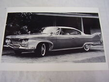1960 PLYMOUTH FURY  2 DOOR  HARDTOP  12 X 18 LARGE PICTURE / PHOTO