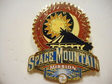Space Mountain Mission 2 Disney Pin
