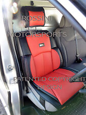 TO FIT A FORD TRANSIT VAN,2009, SEAT COVER, YS 06 ROSSINI SPORTS RED/BLACK