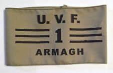 UVF Ulster Volunteer Force  commander Armband ARMAGH Brigade