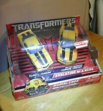 Transformers Movie Target Exclusive 2 pack Bumblebee Evolution of a Hero Camaros