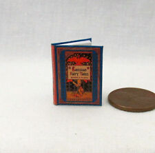 RUSSIAN FAIRY TALES Miniature Book Dollhouse 1:12 Scale Illustrated Book