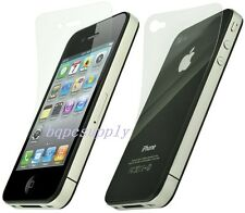 3X Anti-Glare Matte HD Screen Protector Cover Guard For Apple iPhone 4 4S Gen