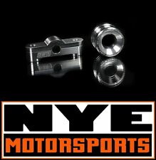 BLACKWORKS BWR SOLID 2 PIECE FRONT & REAR BILLET SHIFTER BUSHING KIT B16 B18