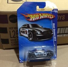 "Hot Wheels Dodge Charger SRT8 Police HW City Works Black ""Mint"""