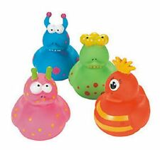 Set of 4 Monster Rubber Ducks Duckys Duckies #255988 Scary Creature Spooky