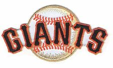 San Francisco Giants MLB Baseball Iron On Patch Embroidered Team Logo Word/Ball