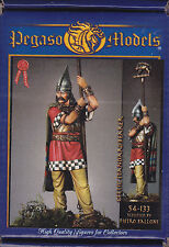 PEGASO MODELS 54-133 - CELTIC STANDARDBEARER I CENTURY - 54mm WHITE METAL NUOVO