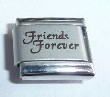 FRIENDS FOREVER Italian Charm - 9mm fits Classic Starter Bracelets - Best Friend