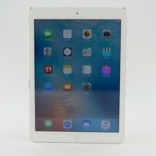"Apple iPad Air 1st 32G A1475 MF529LL/A Wi-Fi+4G 9.7"" White/Sliver UNLOCK iOS"