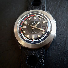 Lip Nautic Ski SUPER COMPRESSORE EPSA CASE CAL. r184 Jumbo 42mm DIVERS orologio anni'60