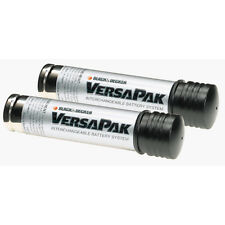 2 Black & Decker original VersaPak battery for floorbuster dustbuster scumbuster