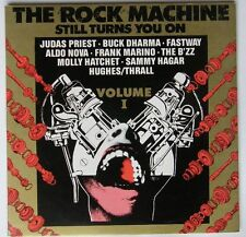 Rock Machine 1+2 Rare 2LP Judas Priest Aerosmith etc
