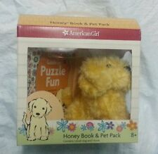 New American Girl - Authentic Honey Pet + Book Pack Set ~~ IN BOX~~~
