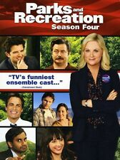 Parks and Recreation: Season Four [4 Discs] [DVD NEW]