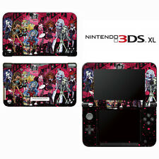 Vinyl Skin Decal Cover for Nintendo 3DS XL LL - Monster High Ghoul Bloody Dolls