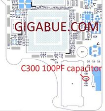 C300 100PF ic chip capacitor integrato su logic board scheda madre per iPhone 4S