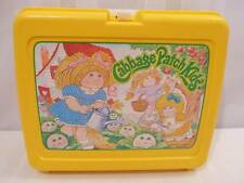 Vintage 1983 CABBAGE PATCH KIDS SCHOOL LUNCHBOX Yellow