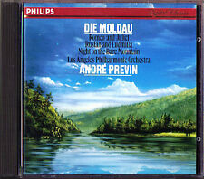 PREVIN: MUSSORGSKY Night on the Bare Mountain SMETANA Moldau Romeo and Juliet CD
