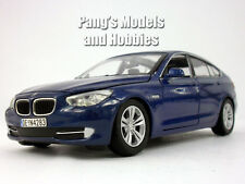 BMW 5 Series GT 1/24 Scale Diecast Model by Motormax - BLUE