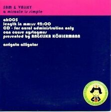 (M197) Sam & Valley, A Miracle Is Simple - DJ CD