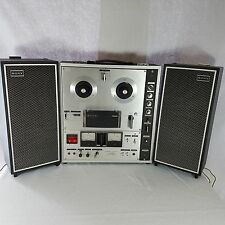 Vtg Sony TC-630 3 Head Reel to Reel Tape Recorder Tapecorder Solid State RARE