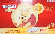 Huggies Little Snugglers Size 1 Baby Diapers with Bonus Wipes, 100 Count